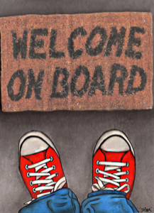 """""""Welcome on board"""""""